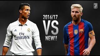 Cristiano Ronaldo vs Lionel Messi 2017 - Skills & Goals | 2016/2017 ᴴᴰ