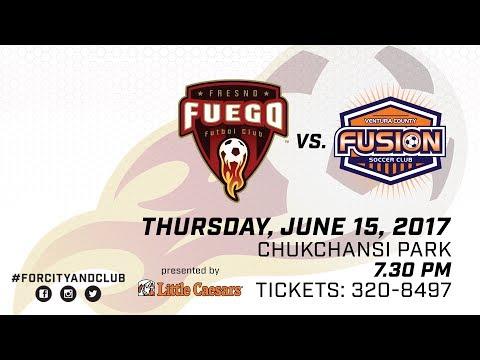 Fresno Fuego vs Ventura County Fusion