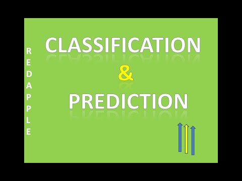 Data Mining Classification And Prediction ( In Hindi)