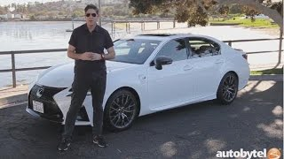 2017 Lexus GS F Test Drive Video Review