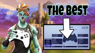 BEST Fortnite Controller Settings | Fast Edits/Builds & Godly Aim | SZN 8