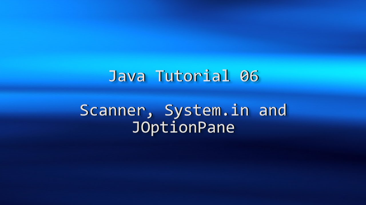 How to use joptionpane to create dialogs.