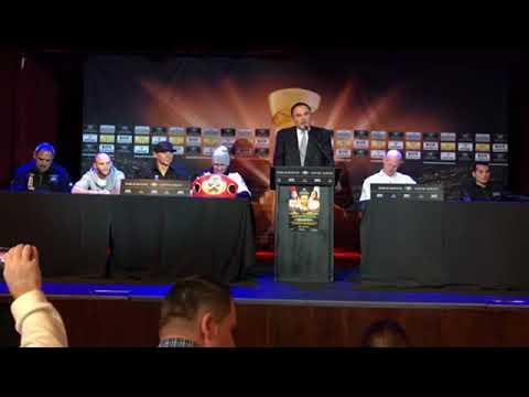 Murat Gassiev vs  Krzysztof Wlodarczyk Final Press Conference