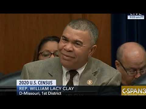 Rep.Lacy Clay Questions Secretary Ross