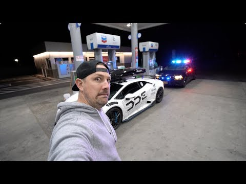 Lamborghini Pulled Over By Oregon State Police
