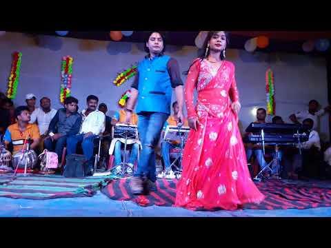 Dilip darbhangiya stej show dulipatti ghaow me 2017