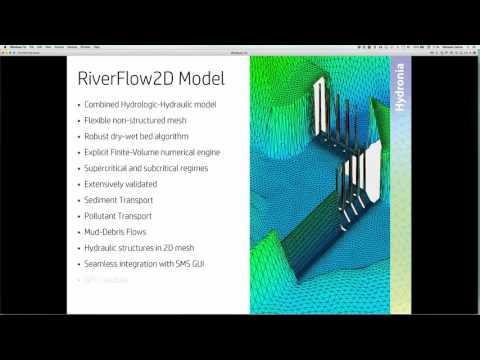 Comparing RiverFlow2D with HEC-RAS 2D (Beta) and SRH-2D