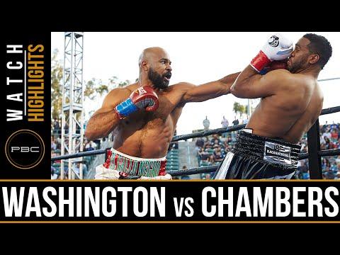 Washington vs Chambers HIGHLIGHTS: April 30, 2016 - PBC on FOX