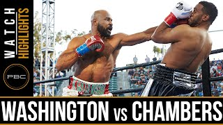 Washington vs Chambers HIGHLIGHTS: April 30, 2016 - PBC on FOX
