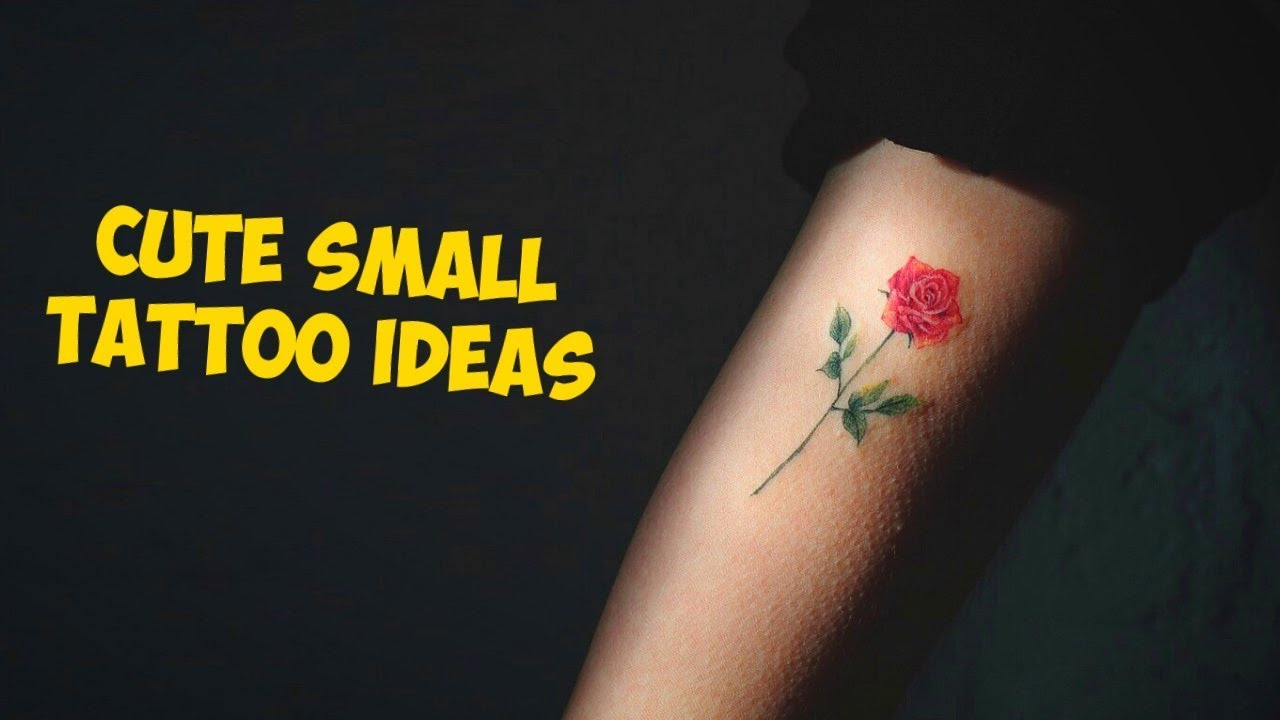 Small Pretty Tattoo Designs: Cute And Beautiful Small Tattoo Ideas