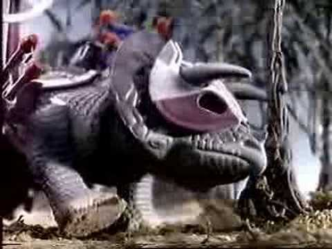 Dino-Riders: Torosaurus, Triceratops, Deinonychus