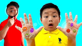 Alex Pretend Play Wash Your Hands Kids Story | Clean Hands Before Eating and After Playing