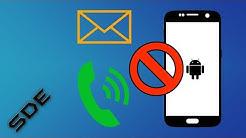 Anrufe und SMS ohne App blockieren beim Samsung Galaxy S7