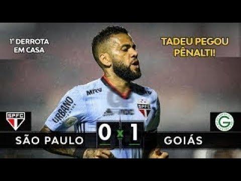 São Paulo 0 x 1 Goiás - Melhores Momentos HD - Brasileirão 25 09 2019