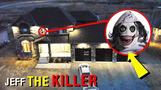 DRONE CATCHES JEFF THE KILLER SNEAKING INTO MY HOUSE!! (YOU WON'T BELIEVE THIS!)
