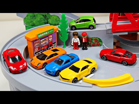 Thumbnail: Best Toddler Learning Cars Trucks Colors for Kids #1 Teaching Colours Tomica Mountain Drive