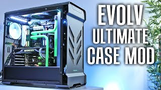 Phanteks Evolv ATX Kühlung Temperaturen verbessern - Case Mod