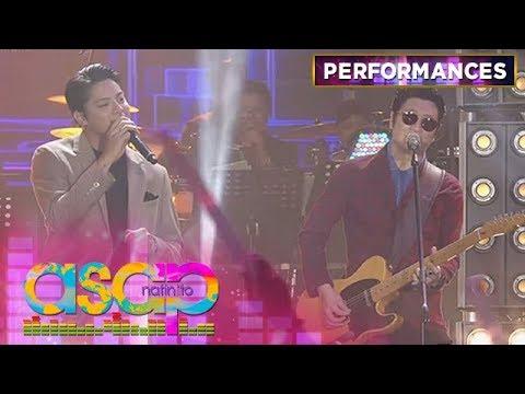 Daniel Padilla sings 'Hanggang Kailan' together with Orange and Lemons   ASAP Natin 'To