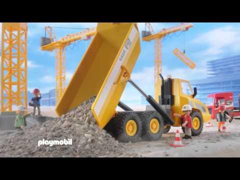 Playmobil Φορτηγό με Καρότσα