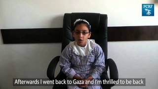 Gazan Girl Recieved Prosthetic Eye in San Diego