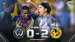 ¡CON GOLEADA Y SALVADA DE OCHOA, AMÉRICA ESTÁ EN LA FINAL! PHILADELPHIA 02 AMÉRICA Liga Concacaf