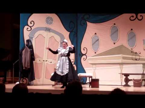 "Berta in ""Barber of Seville"" with Opera Colorado's Outreach Program"