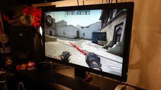 BenQ ZOWIE RL2455 60Hz 1080p gaming monitor review - By TotallydubbedHD