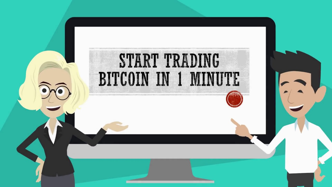 Start Bitcoin Trading In 1 Minute - YouTube