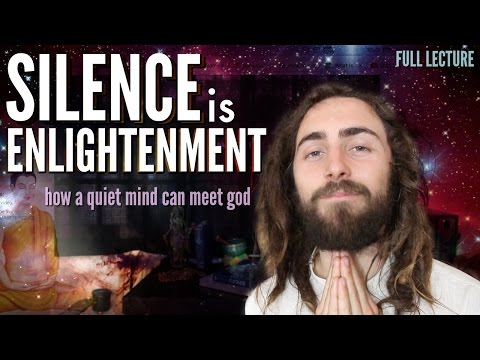 From Silence Comes Enlightenment. (How a Quiet Mind Can Meet God) | Full Lecture ~ Koi Fresco