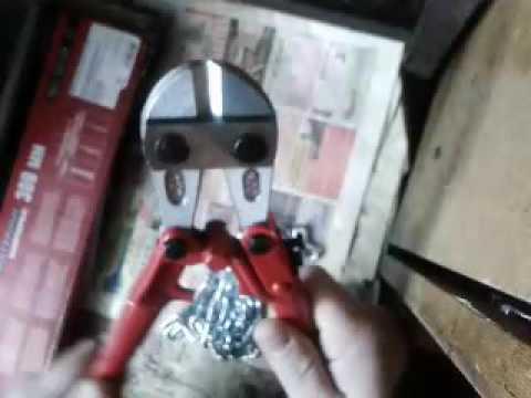 ножницы арматурные, болторез Matrix 300