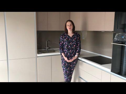 видео: Кухня с фасадами мдф в пленке .