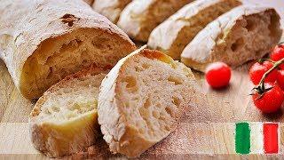 Итальянский хлеб чиабатта - самый простой рецепт!
