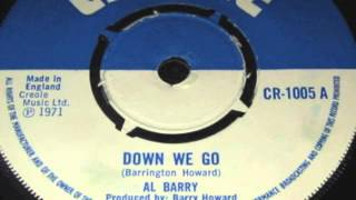 AL BARRY° Down we go