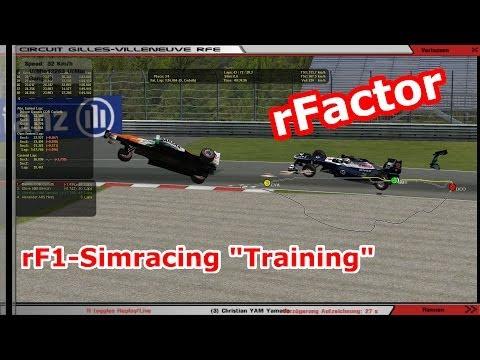 rF1 Simracing - Training für Kanada GP - FOS2013I14