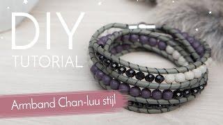 Sieraden maken met Kralenwinkel Online - Armband Chan-luu stijl