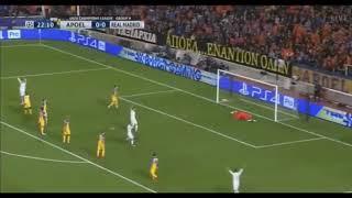 ריאל מדריד נגד אפואל ניקוסיה תקציר המשחק