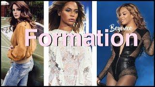 Recorrido por el mundo de la formación de formación de formación de la organiza Beyonce + Lana Del Rey Roblox
