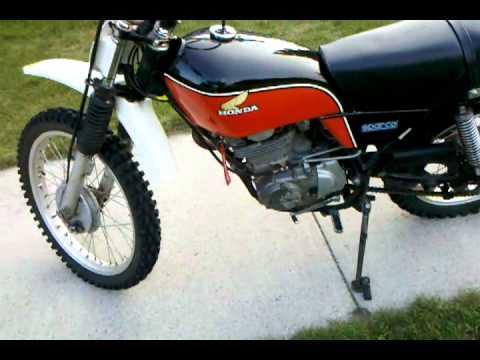 1976 Honda XL 350 - YouTube