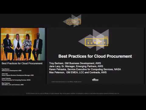 Best Practices for Cloud Procurement | AWS Public Sector Sum
