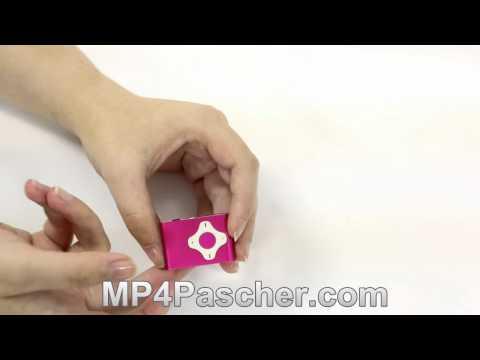 [MP4PasCher.com] Lecteur MP3 en Métal