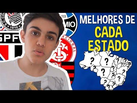 MELHORES TIMES DE CADA ESTADO DO BRASIL!!!