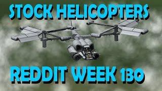 Stock Helicopters - KSP 1.1.2 - [Reddit challenge]