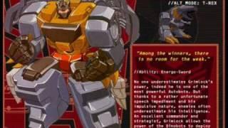 "Transformers Ringtone ""Go Go Me Grimlock"" (Godzilla Rampage Mix)"