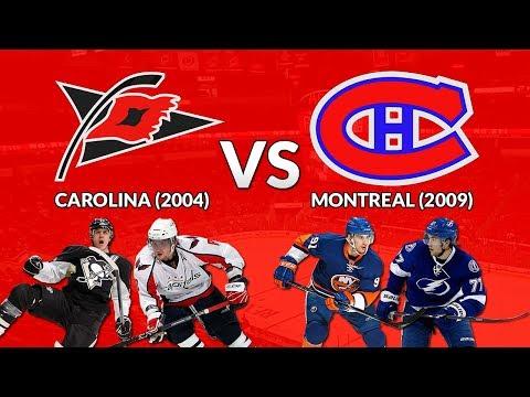 NHL 18 DYT - Round 1: Carolina (2004) vs Montreal (2009)