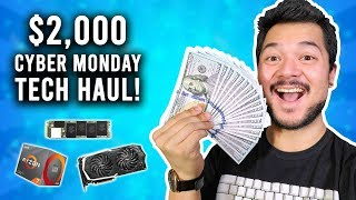 How to blow $2,000 on Cyber Monday
