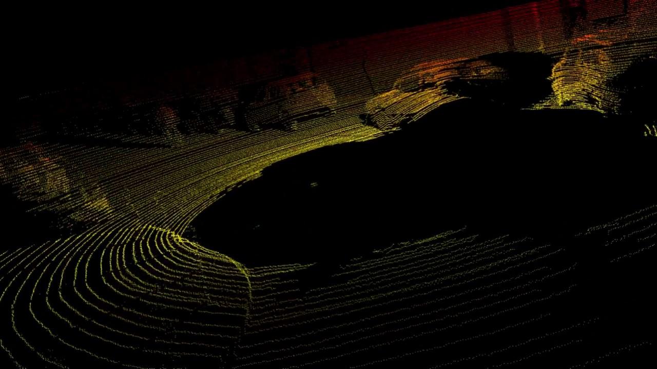 Visualizing LIDAR data from Kitti Raw dataset