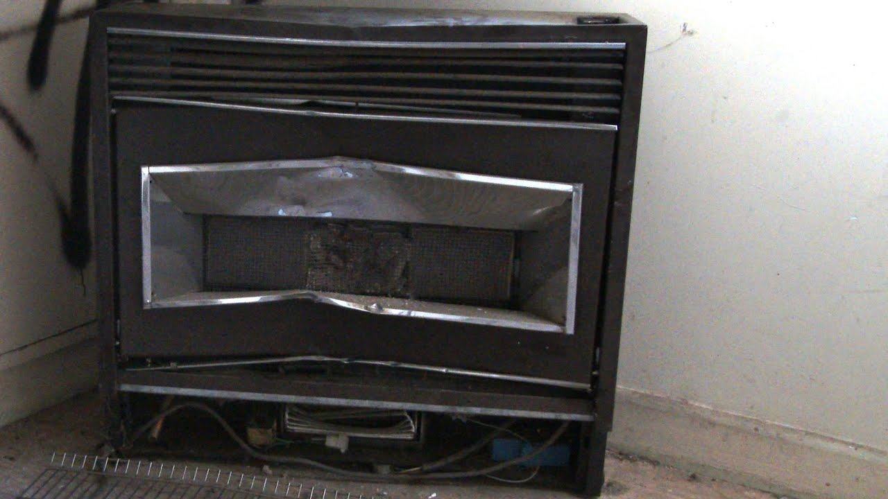 Smashing A Pyrox 304 Natural Gas Space Heater