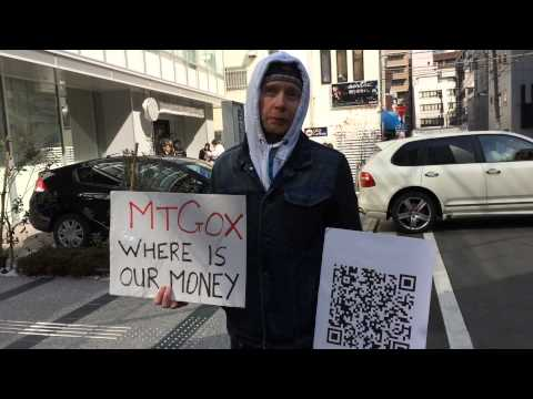 Mt Gox Bitcoin Protest  Update 17 Feb 2014