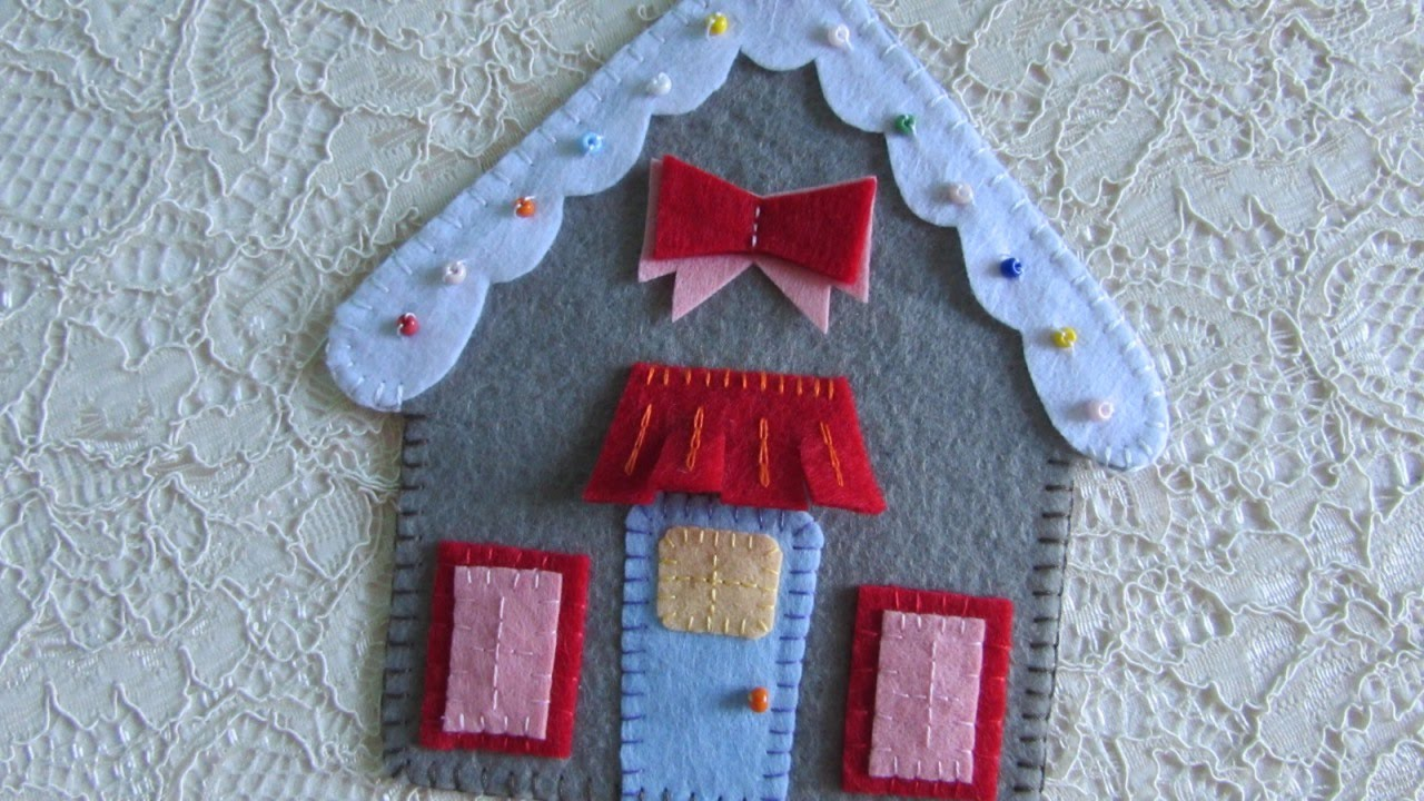 Make A Felt Gingerbread House Diy Crafts Guidecentral