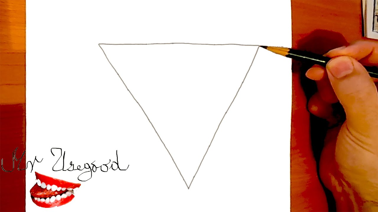 how to make a triangle paper popper step by step